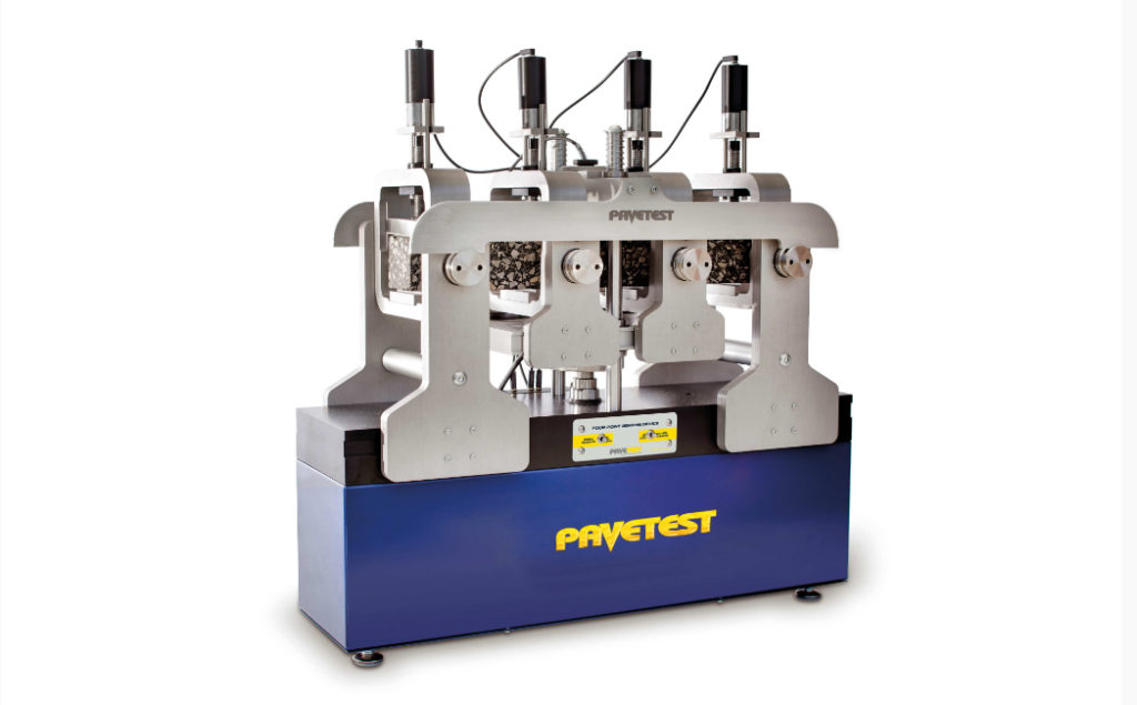 Advanced Asphalt's Pavetest 4-Point Bending Aparatus