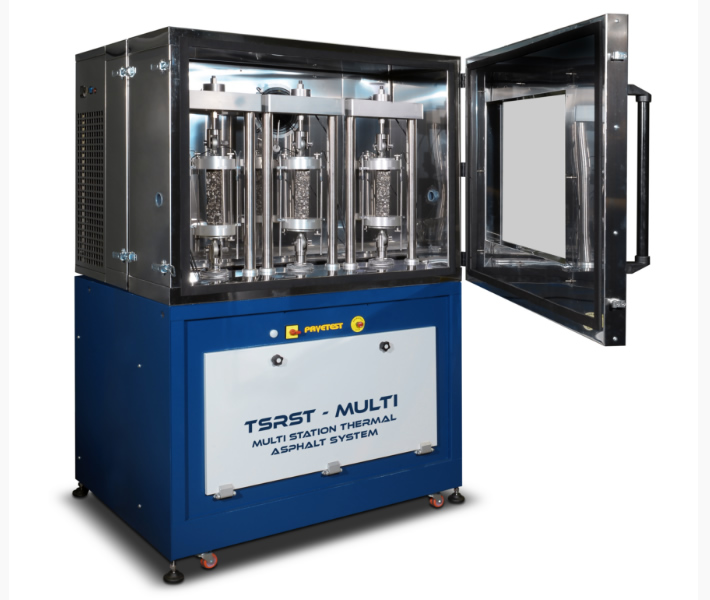 Advanced Asphalt's Pavtest Multi-Station Thermal Asphalt System